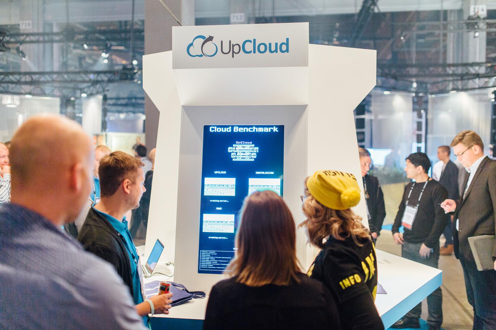 Cloud benchmark Slush Helsinki 2015