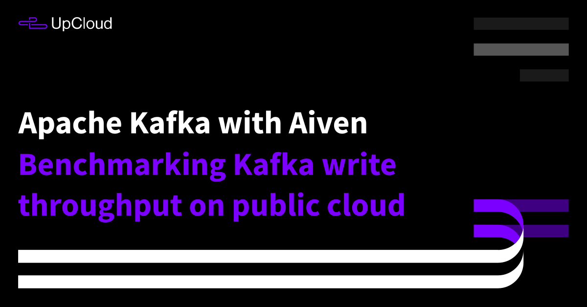 Benchmarking Apache Kafka with Aiven: Write throughput (AWS