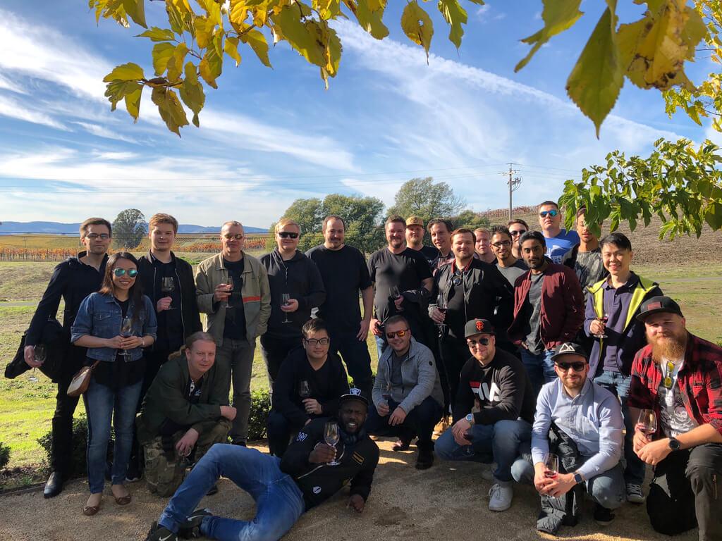 UpCloud team in San Francisco
