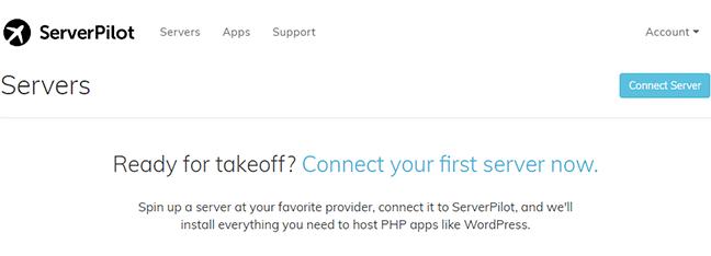 Serverpilot dashboard