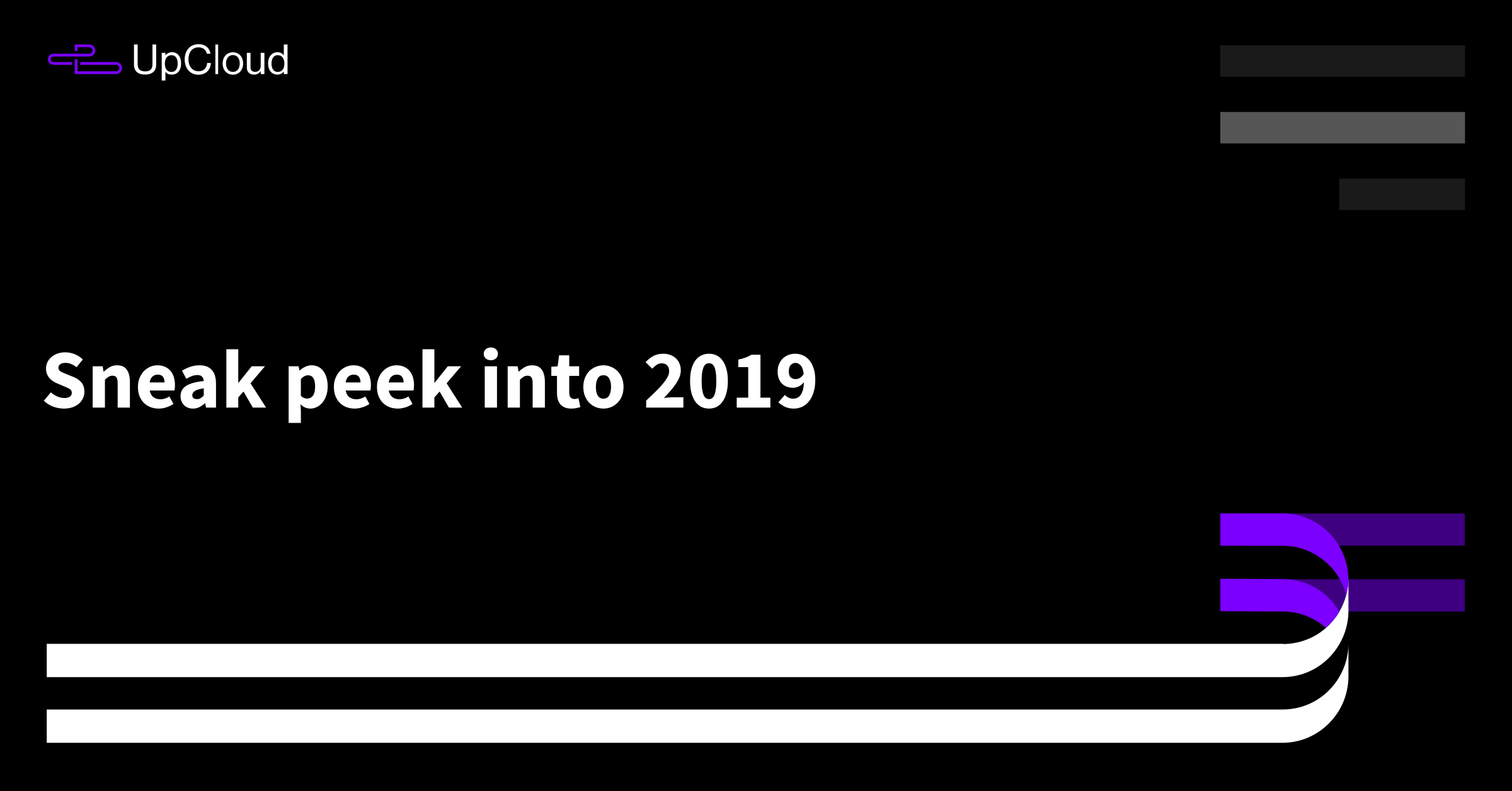 Sneak peek into 2019