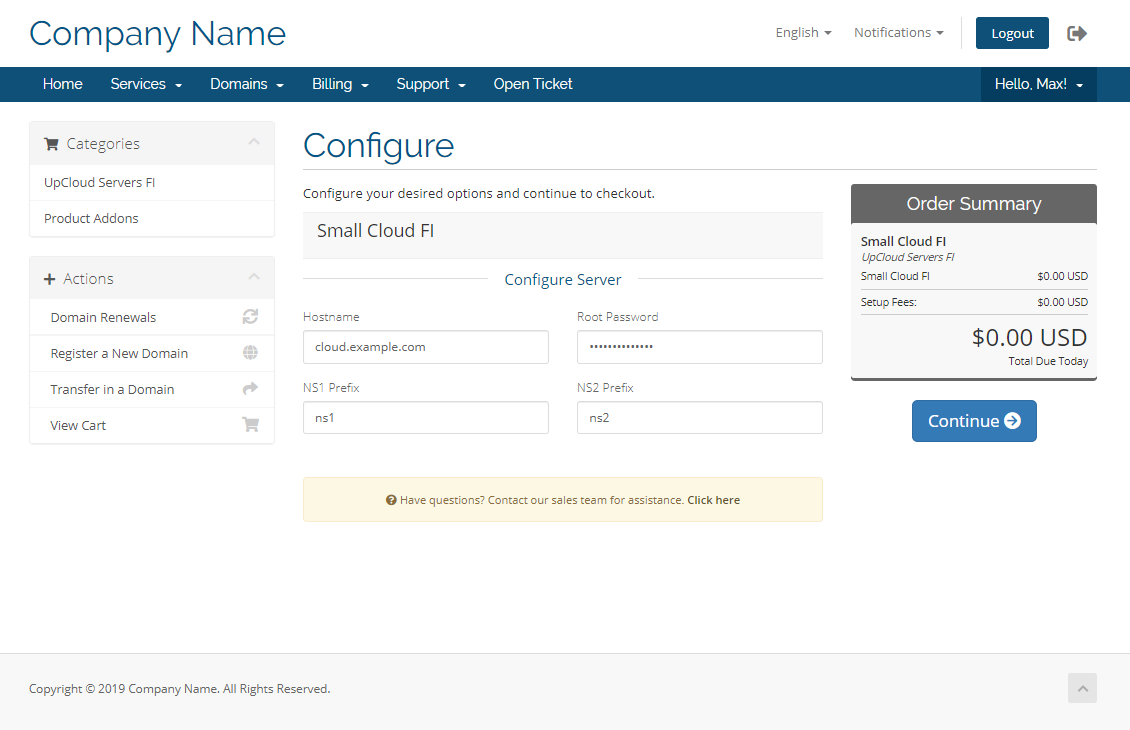 How to get started with UpCloud WHMCS module - UpCloud