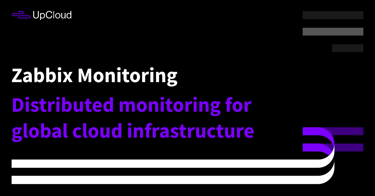 Distributed monitoring for global cloud infrastructure - UpCloud