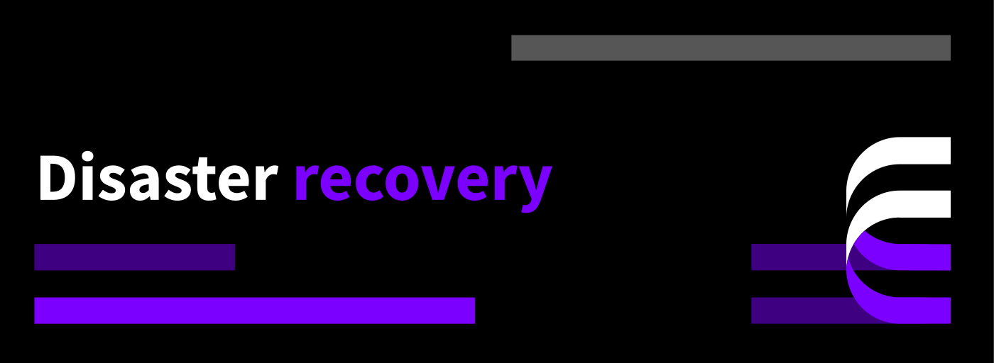 Disaster recovery featured