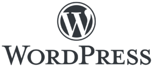 WordPress Transparent Logo