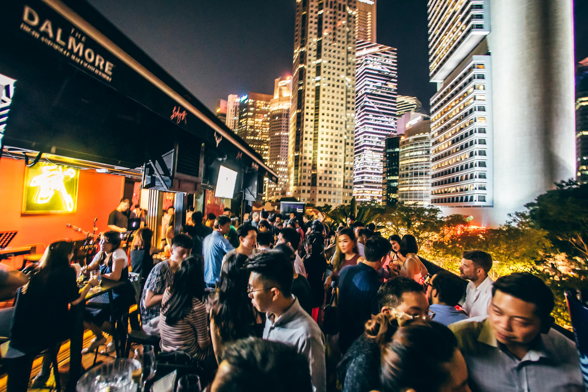 WordCamp Singapore 2019 Afterparty crowd