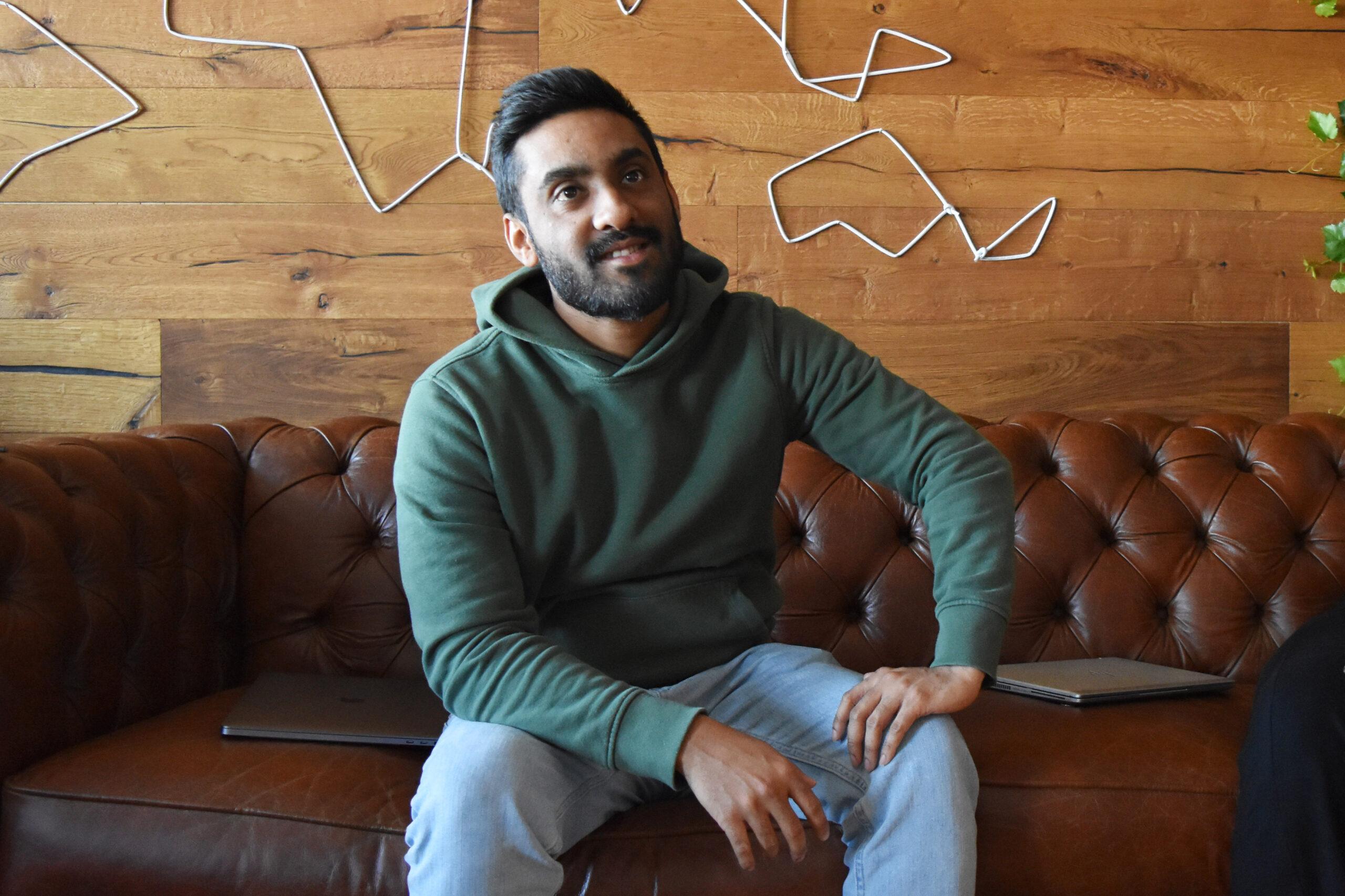 UpCloud customer success manager Saj Abbas