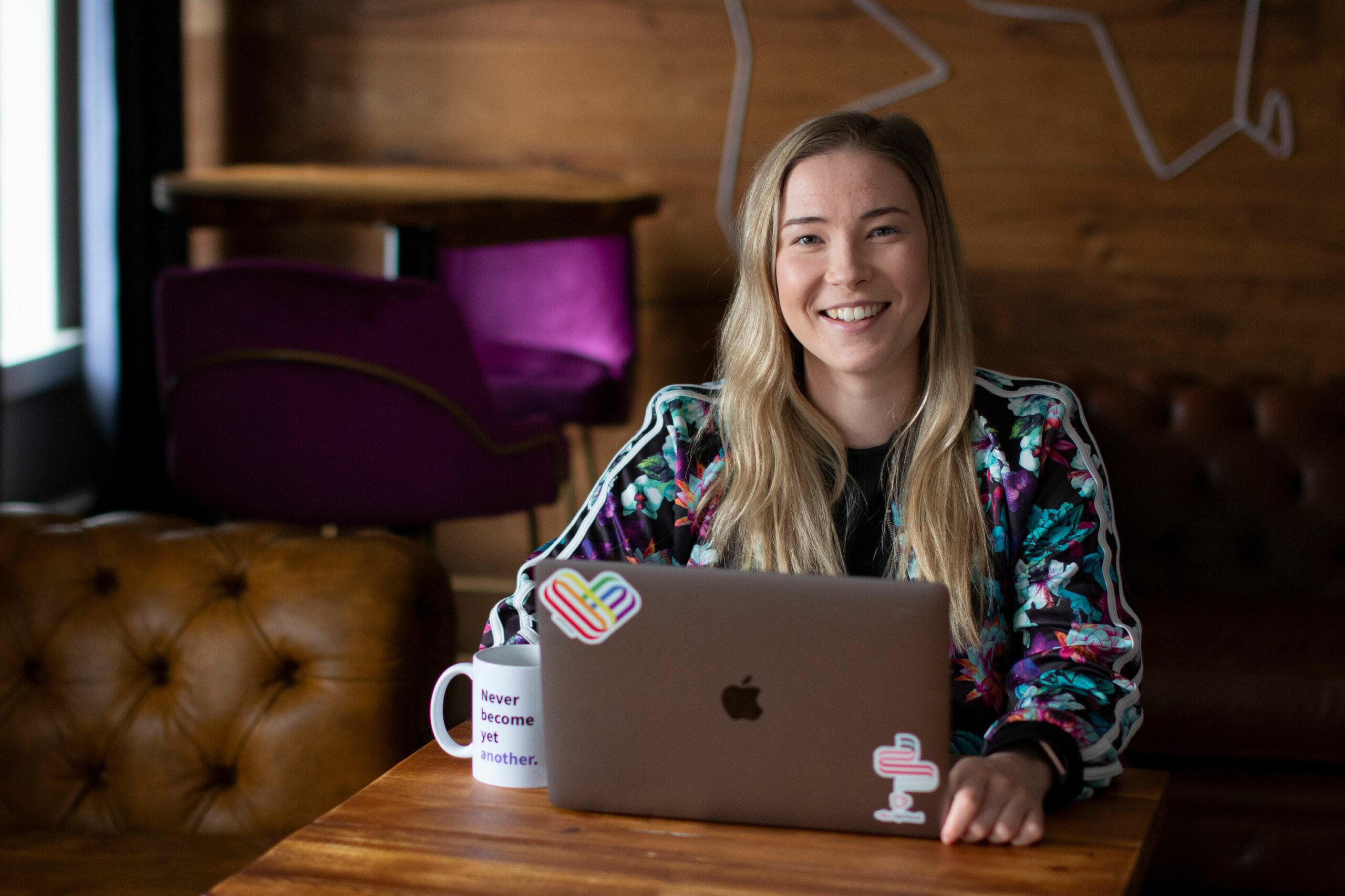 UpCloud's Digital marketing manager Hanna Tuomisto