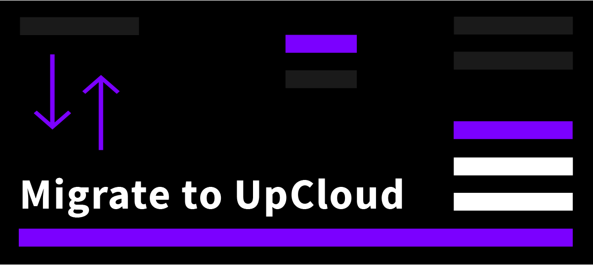 Migrate to UpCloud