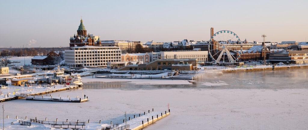 Helsinki HQ view
